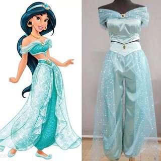 🚚 迪士尼cos 公主茉莉成人儿童cosplay服装