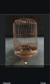 Mata puteh Old banji cage