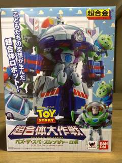 Toy Story Chogokin Combination Buzz The Space Ranger Robo