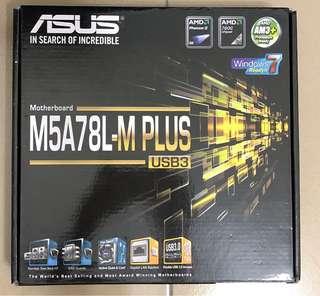 ASUS 華碩 M5A78L-M PLUS主機板