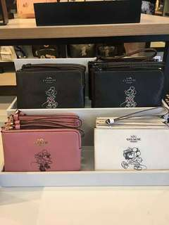 Coach x Disney limited edition small wristlet
