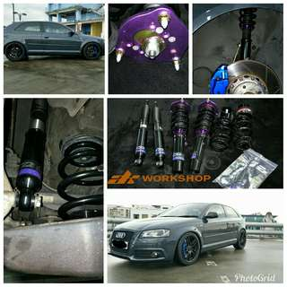 D2 High Performance Coilover