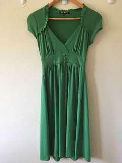 Pop star green Dress