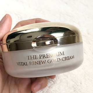 Seed and Tree Vital renew gold cream