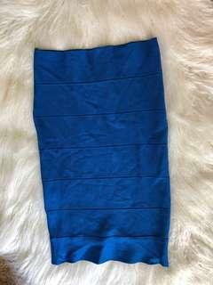 💕Fresh Soul - Blue Tube Skirt