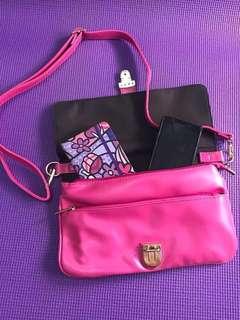 Parisian Pink Shoulder / Hand Bag