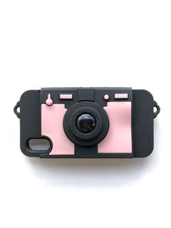 Super Cute Silicon Camera Wallet Case for iPhone X