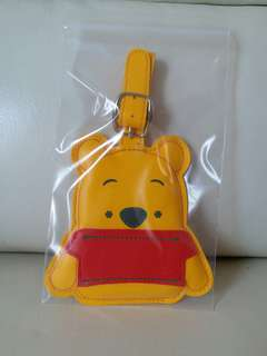 Winnie the pooh行李牌八達通套