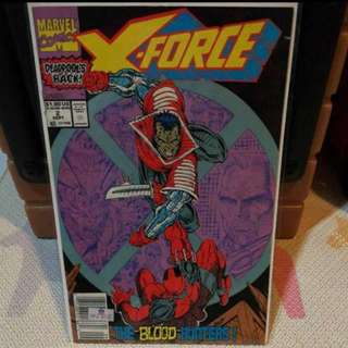 Marvel Comics X-FORCE Featuring Deadpool Issue 2