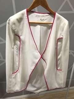 White Cape Jacket
