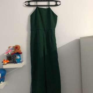 jumpsuit hijau