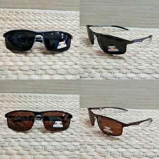 Kacamata pria titanium sport lensa polarized anti silau