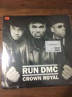 Run DMC, crown royal, unopened