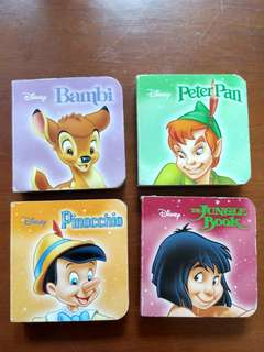 Mini board books disney