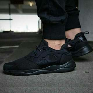 Sepatu Reebok Furylite Refine Black Original Bnib
