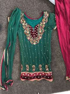 Indian outfit size 8-10