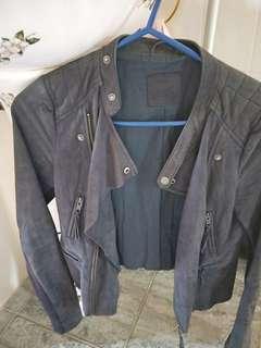 Husk 100% Lamb Leather Jacket