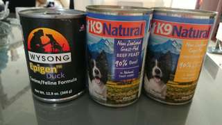 K9 natural canned food for dogs chicken