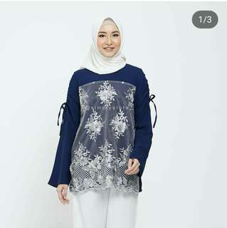 Atasan blouse 3D by simply