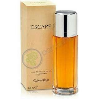 Parfum calvin klien CK escape women 100 % box + segel