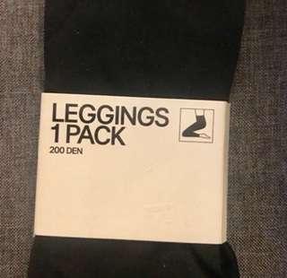 H&M Black Leggings Small BNWT