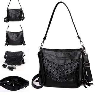 Tas Selempang Sling Bag Fashion Wanita Cewek Impor Import Code 3123