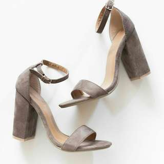 Block Heels One-strap (4 inches)