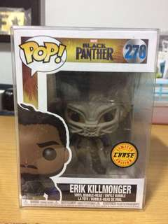 Funko Pop! Marvel - Black Panther: Erik Killmonger (Chase)