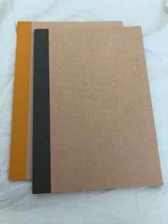 Muji Line Notebook