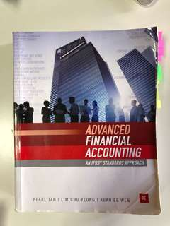 AC3102 Advanced Financial Accounting IFRS 3rd Edition