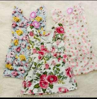 Dress anak&jumpsuit flower kids
