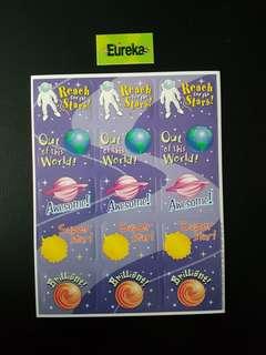 [INSTOCK] BN Out of This World Reward/Merit Stickers (Eureka School)