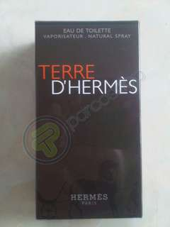 Parfum hermes terre D'hermes for men original 100 % box + segel