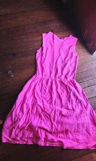 Pre loved pink dress