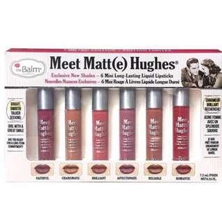 The Balm Meet Matte Hughes Mini Set