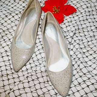 Pedro silver pointed shoes 👠