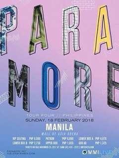 Paramore Ticket Gen Ad