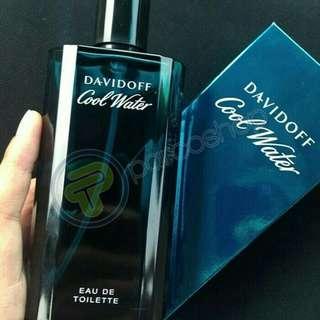 Parfum davidoff coolwater man BPOM 100 % original