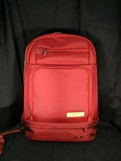 Original Samsonite Red Backpack