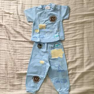 Maxibear Baby Pajamas