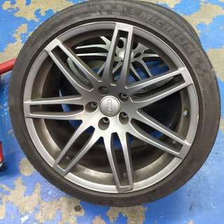 "Wts: Original Audi A4 19"" Rims (yr 06, 07 model)"