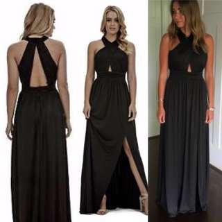 Black Ava Langhem Formal dress