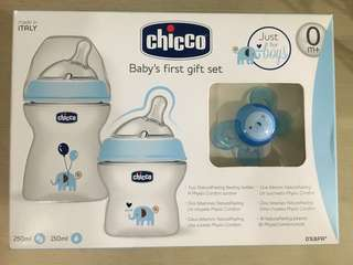 Chicco Baby's First Feeding Bottle Gift Set