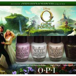 OPI Wizard of Oz mini collection