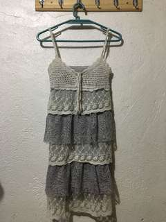 Mini Dress - Knitted