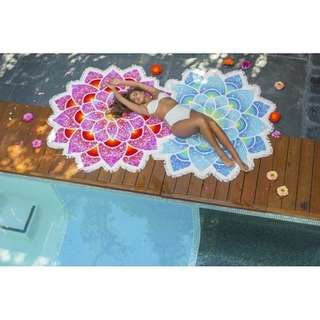 Flower-Beach Towel