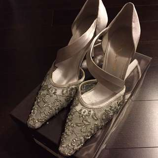 Nina Silver Luster Shoes
