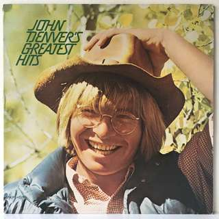 John Denver ‎– John Denver's Greatest Hits (1975 US Pressing - Vinyl is Mint)