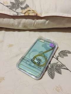 iPhone 6/6s+ hello kitty blue clear smart case