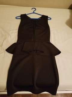 GUESS ruffle dress